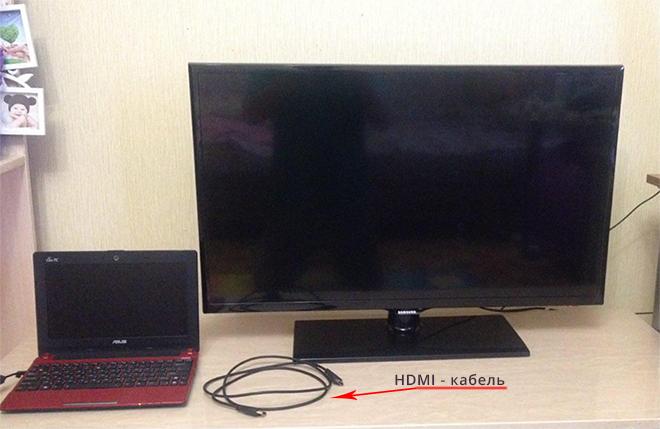 подключение-компьютера-к-телевизору