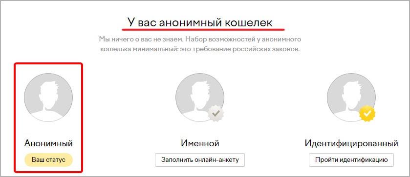 юмани-анонимный-статус