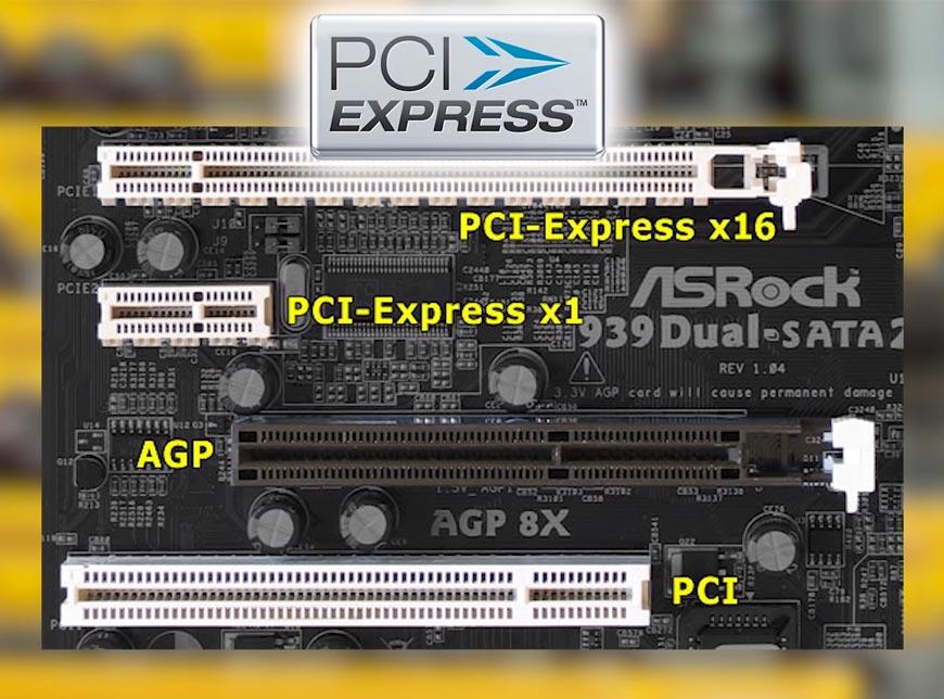 Разьём-PCI-Express